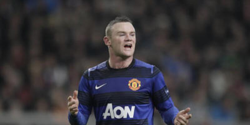 Rooney Ajax maçında yok