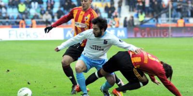 Kayseri'de farklı skor: 3-3