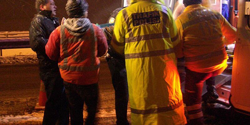 Başkentte otobüs devrildi: 1 ölü, 34 yaralı
