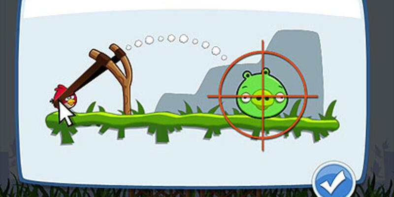 Angry Birds artık Facebook'ta