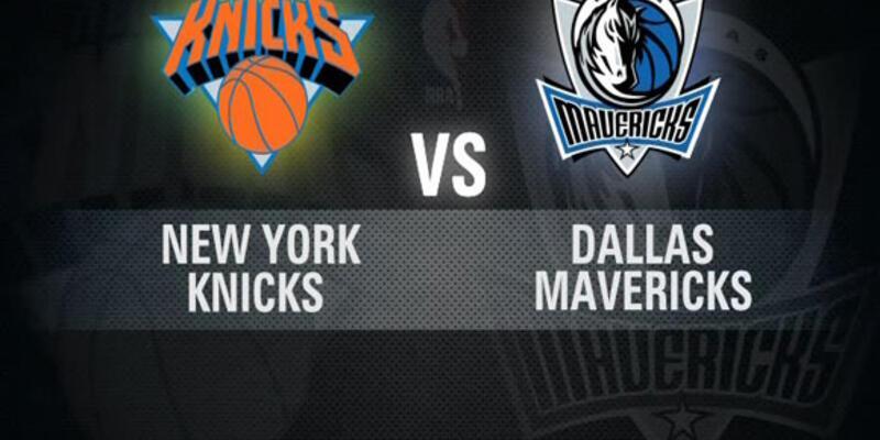 New York - Dallas maçı CNN TÜRK'te