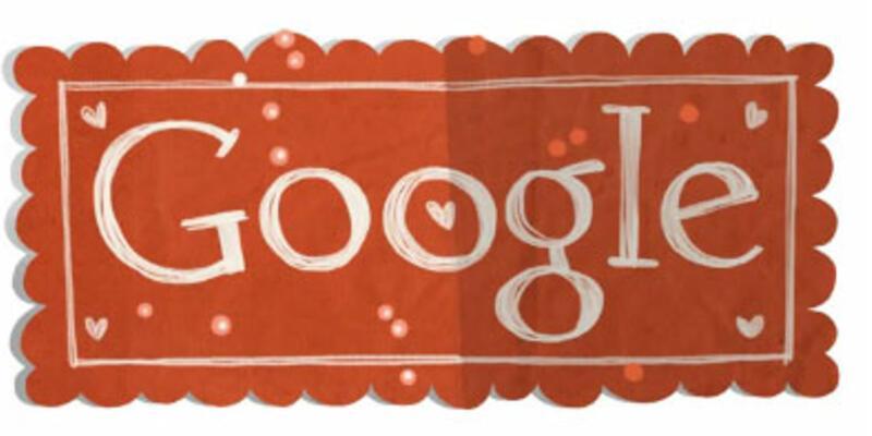 Google'dan Sevgililer Günü için video doodle