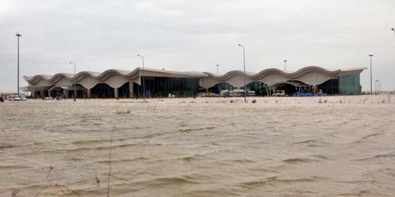 Hatay Havaalanı yine kapatıldı