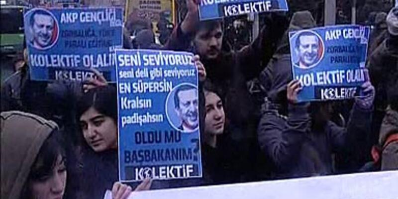 """""""AKP gençliği olmayacağız!"""""""