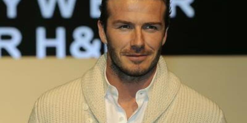 David Beckham da modacı oldu!