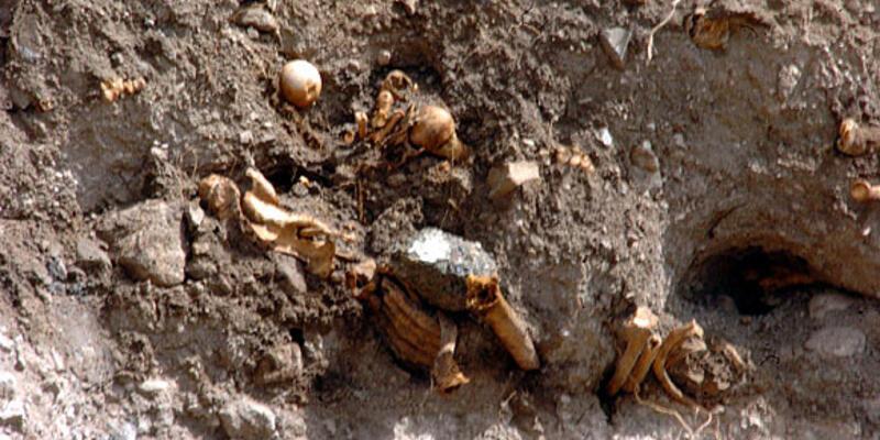 Erzurum'daki kemikler Türk askerlerine aitmiş