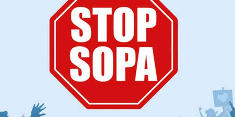 SOPA geliyor, internet kararıyor