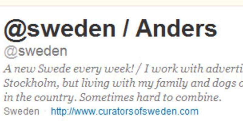 İsveç Twitter resmi temsilciliği!