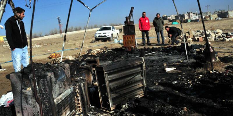 Van'da çadır yangını: 1 kişi öldü