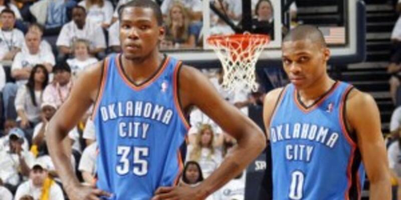 Durant ile Westbrook ağız dalaşına girdi