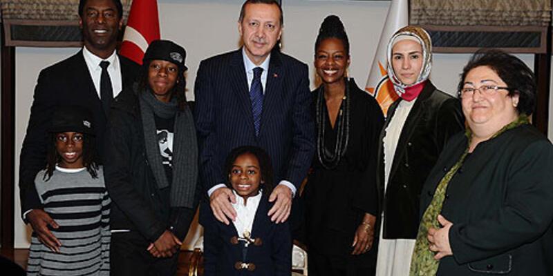 Erdoğan'a ABD'li aktör konuk