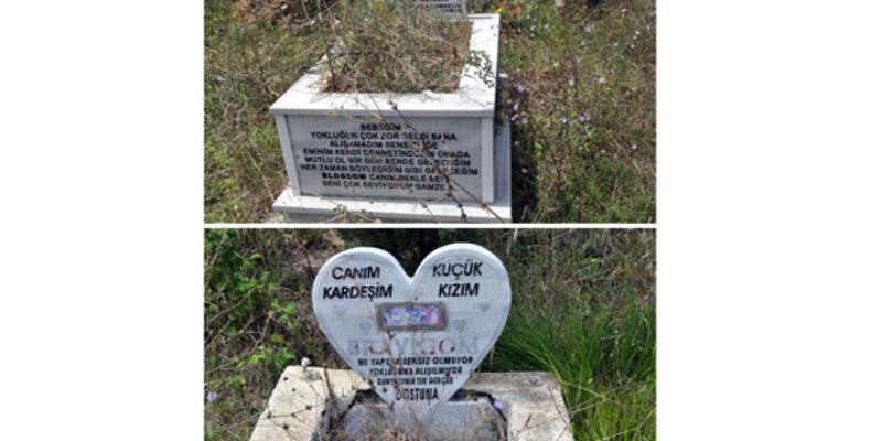 Onlar için de bir mezarlık var