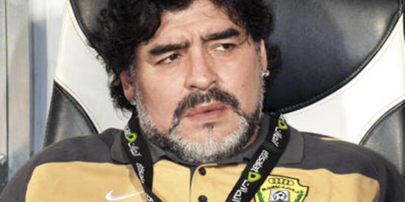 Maradona BAE'yi de çalıştırabilir