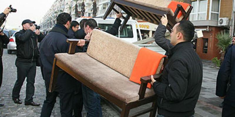 Masa operasyonu bu kez İzmir'de!