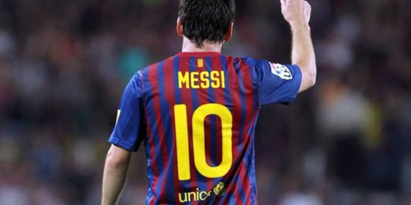 Messi'den 90 saniyede 14 asist!