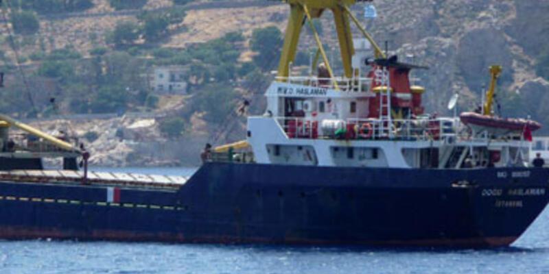 Kargo gemisi battı, 2 gemici kalp krizinden öldü