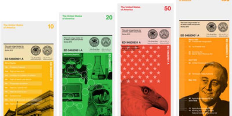 Yeni Amerikan doları!