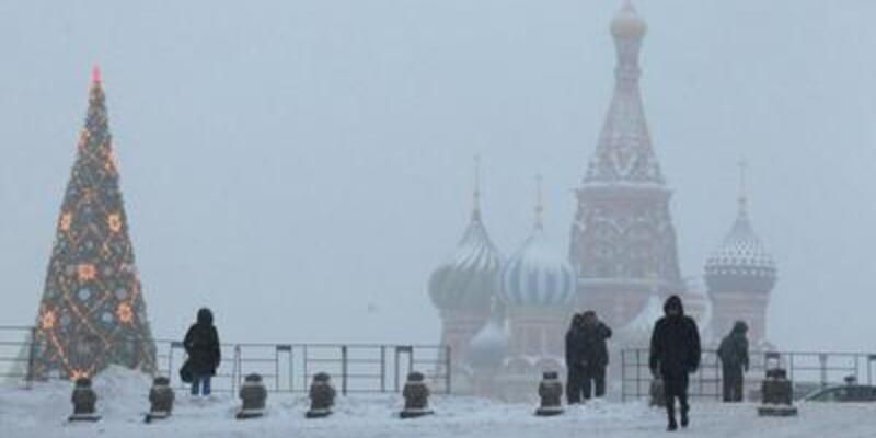 Moskova'da 'kar cehennemi'