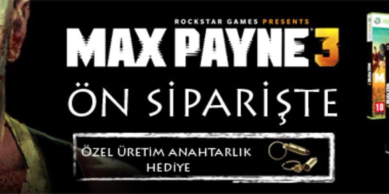 Max Payne 3 önsiparişe çıkıyor