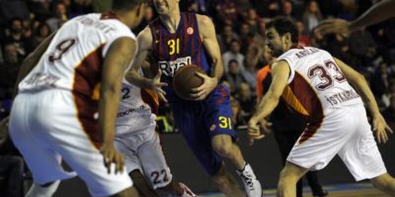 Barcelona Galatasaray'a acımadı: 79-50