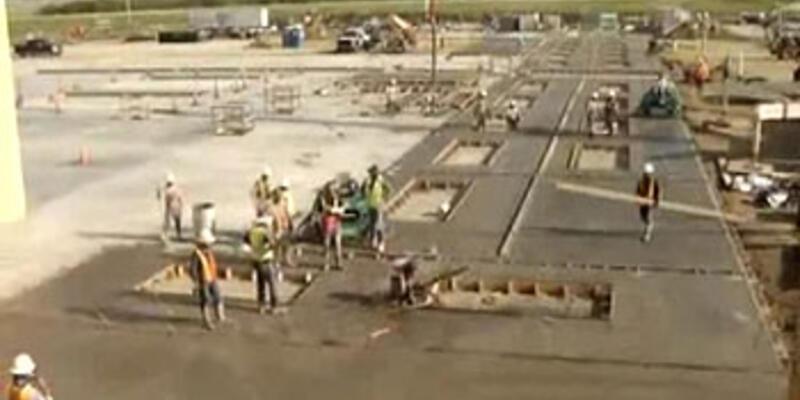 Cinnet geçiren beton cila makinası