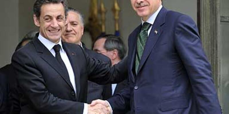 Sarkozy Erdoğan'a söz vermiş
