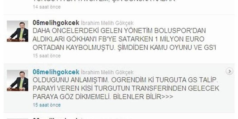 Cim Bom, Turgut, Ankaragücü ve Melih Gökçek
