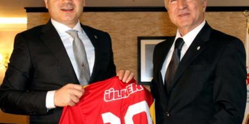 Galatasaray, Bakan Kılıç'ı ziyaret etti