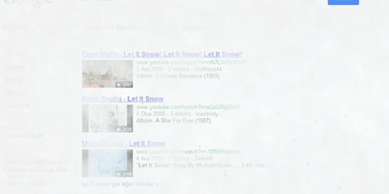 Google kar yağdırıyor!