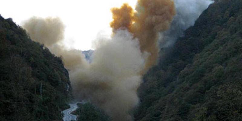Yeşil Senoz Vadisi toz duman!
