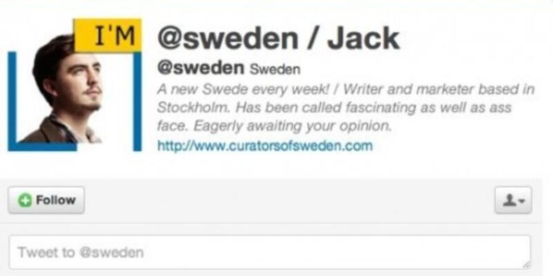 İsveç Twitter hesabını vatandaşa devretti!