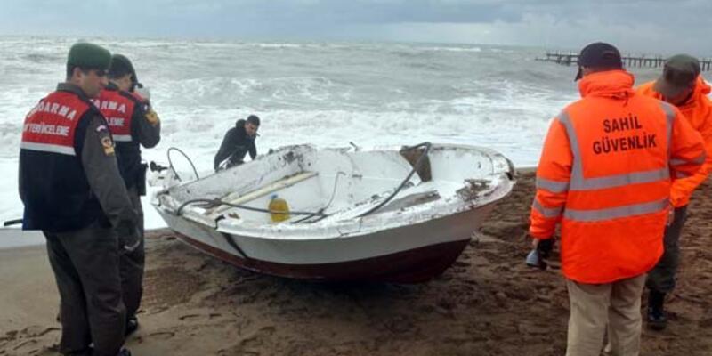 Tekneleri alabora oldu