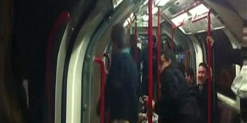 Metroda inanılmaz olay!