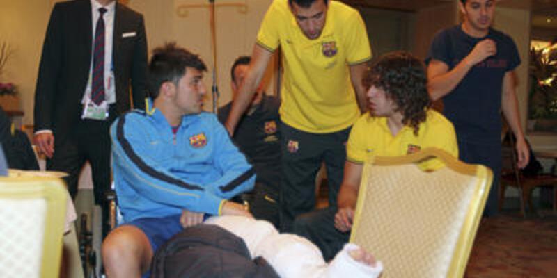 Barcelona Villa'nın yerine kimseyi almayacak