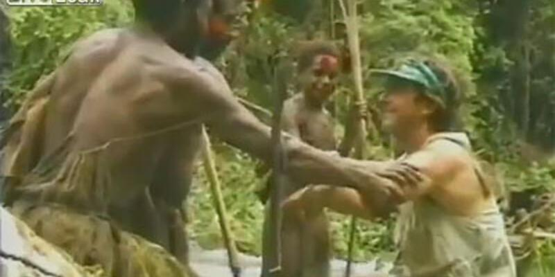 Beyaz adamla ilkel adamın ilk karşılaşması!