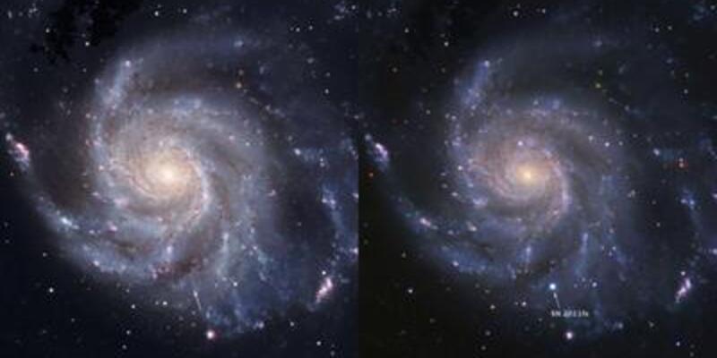 En parlak süpernova gözlemlendi