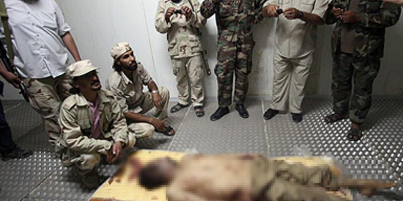 """""""Kaddafi'nin ölümü savaş suçu sayılabilir"""""""