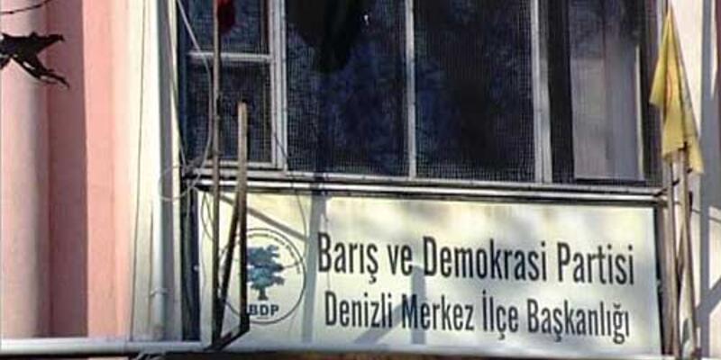 BDP binasına silahlı saldırı