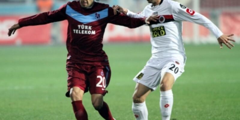 Trabzonspor tepetaklak: 1-2
