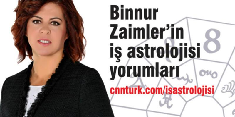 Binnur Zaimler ile iş astrolojisi CNN TÜRK'te