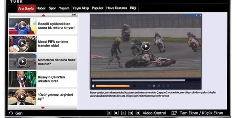 Samsung Smart TV CNN TÜRK uygulaması yayında