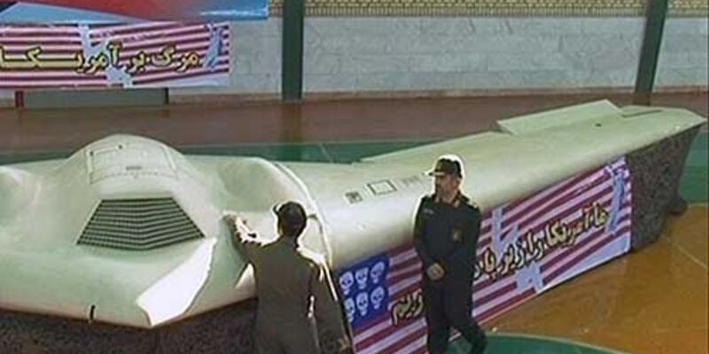 İran o uçağın görüntüsünü yayınladı