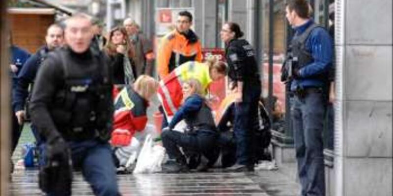 Belçika, Liege'de el bombalı saldırı