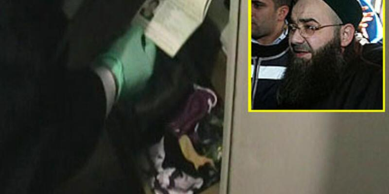 Cübbeli'nin evindeki arama polis kamerasında...