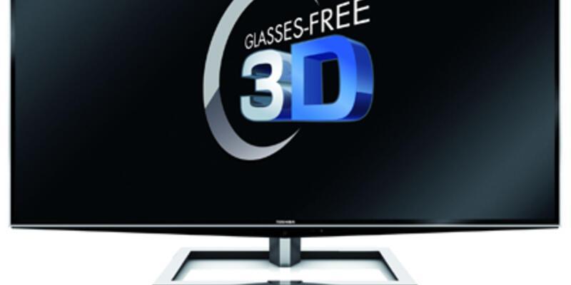 Gözlüksüz en büyük 3D TV