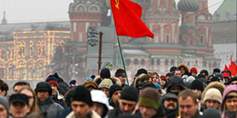 Rusya'da eylem günü...