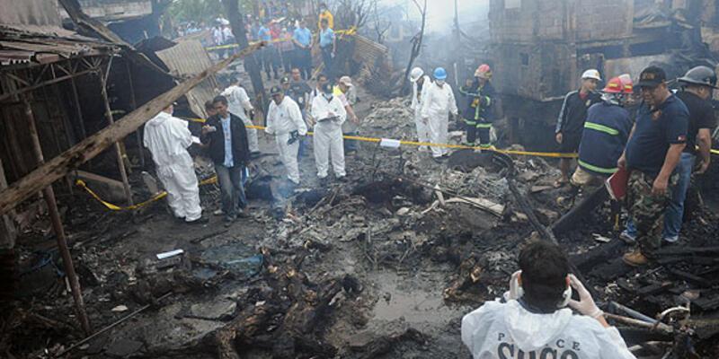 Filipinlerde uçak düştü: 13 ölü