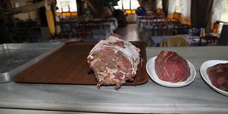 200 kilogram kaçak domuz eti ele geçirildi