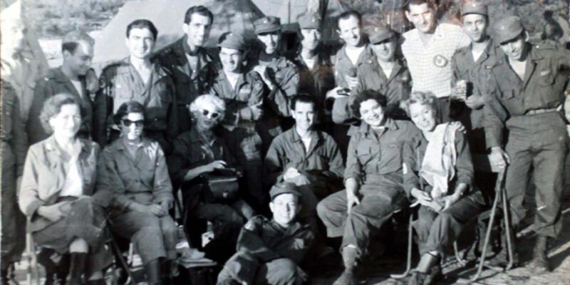 Marilyn Monroe Türk askeriyle