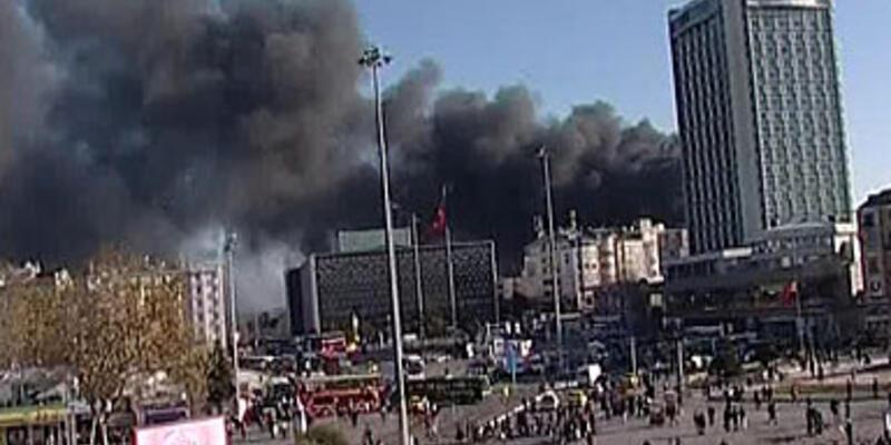 Taksim Park Otel'de yangın!